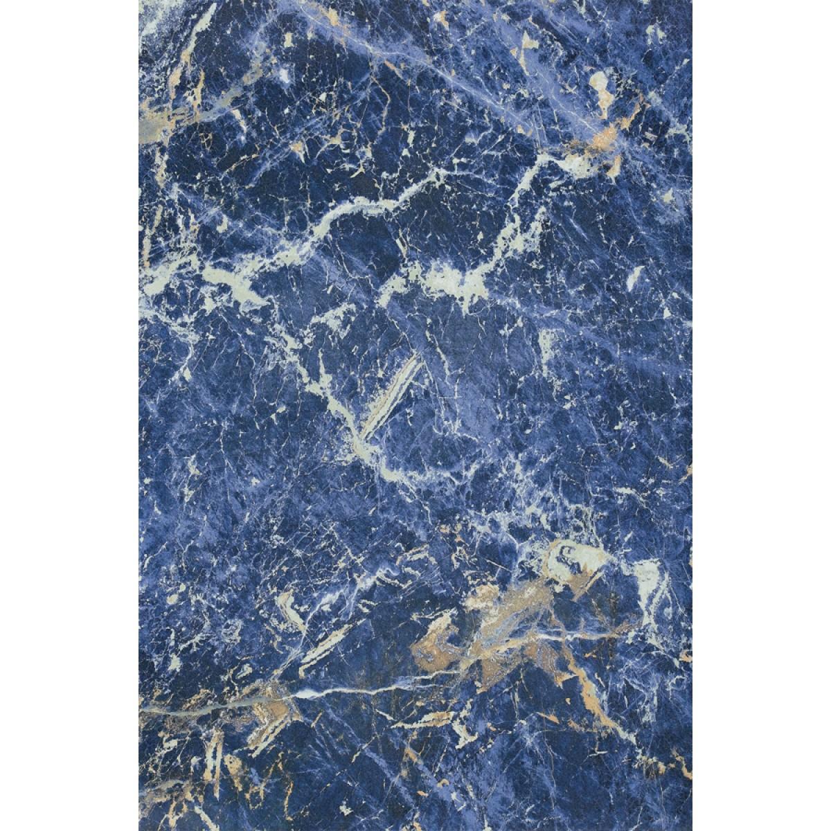 Solidate Blue, poliert