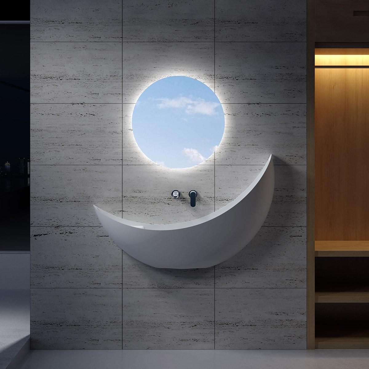 Wandhängendes Waschbecken V35